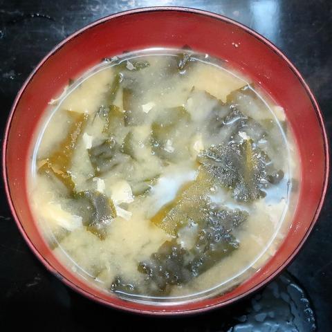 味噌汁(信濃屋)