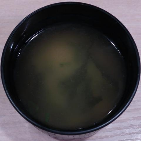 味噌汁(ガスト)
