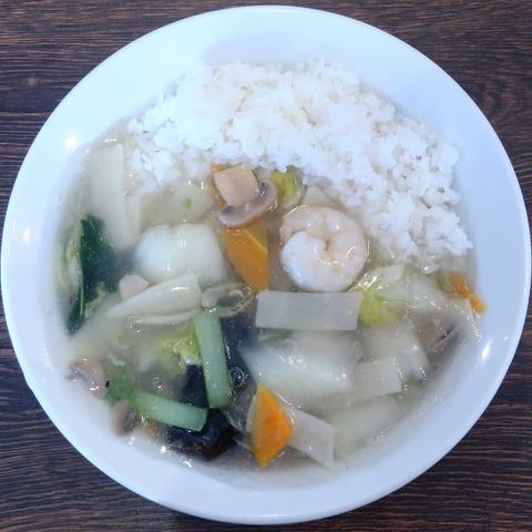 海鮮あんかけ丼(三福屋)830