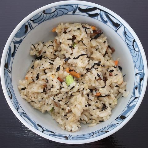 鹿尾菜御飯(あおぞら)