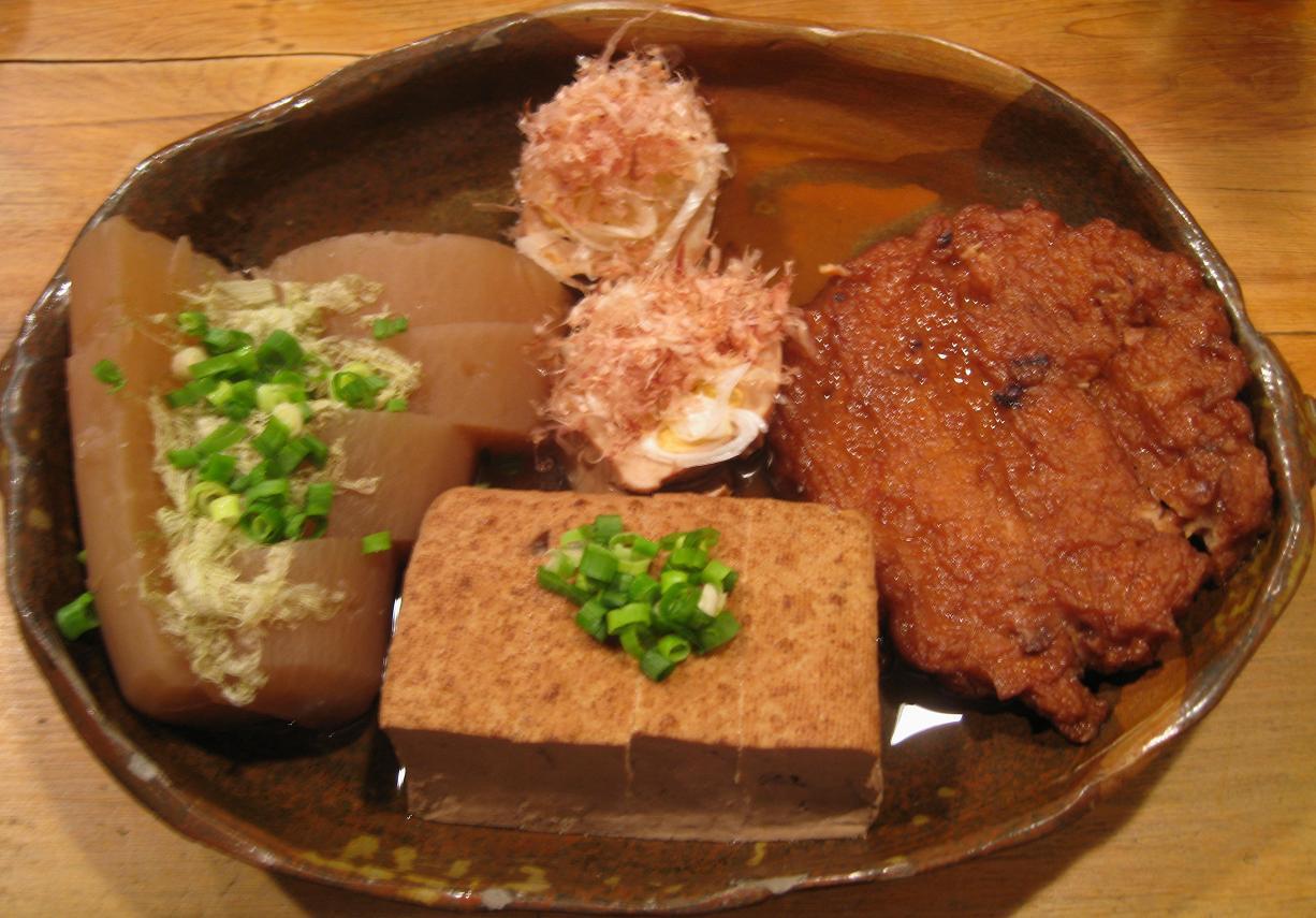 大根・豆腐・玉子・イカ一杯