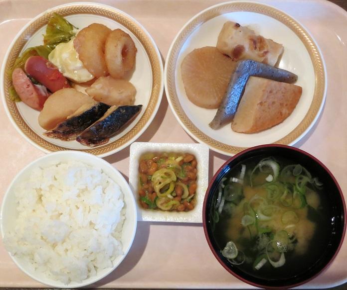 朝食ブッフェ1000円