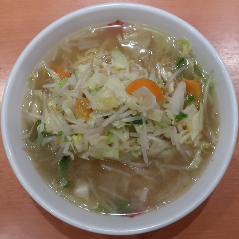 タンメン(日高屋)520