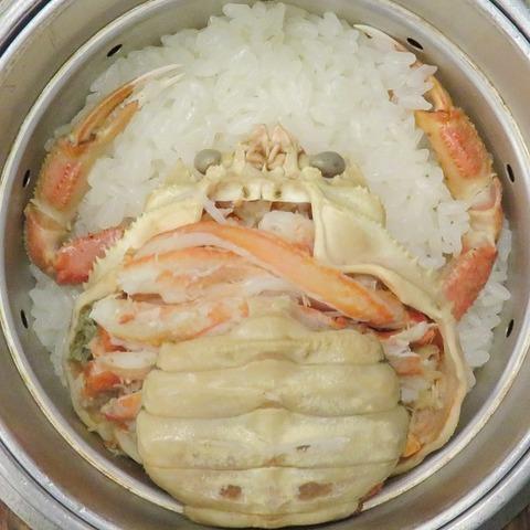 香箱蟹御飯(福わ家)4320
