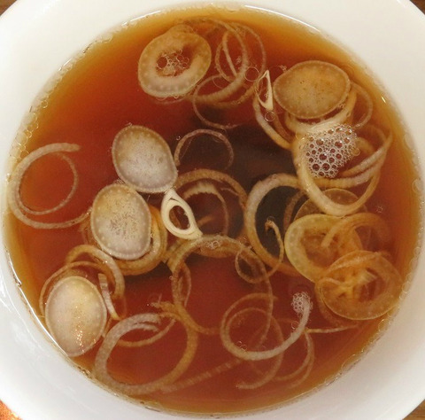 オムライススープ(萬友亭)