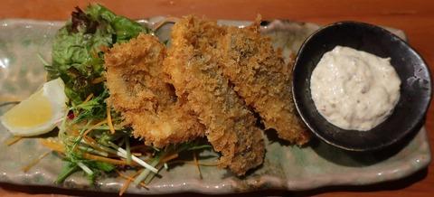 鱧&鯵フライ(魚トの神)780