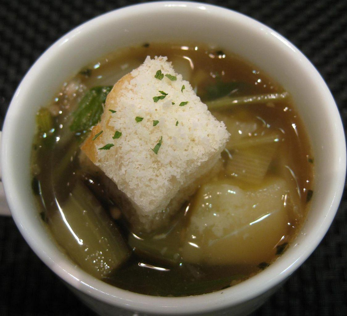 シェフ特製カップスープ