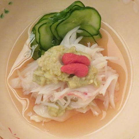 蟹酢(吉兆)