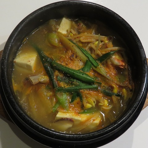 海鮮豆腐チゲ(まだん)1000