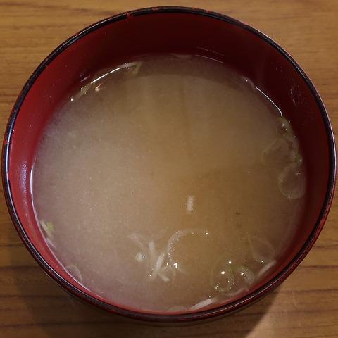 味噌汁(チロル)