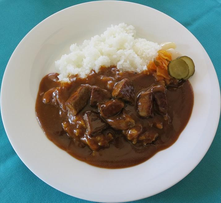 Curry and rice Beef