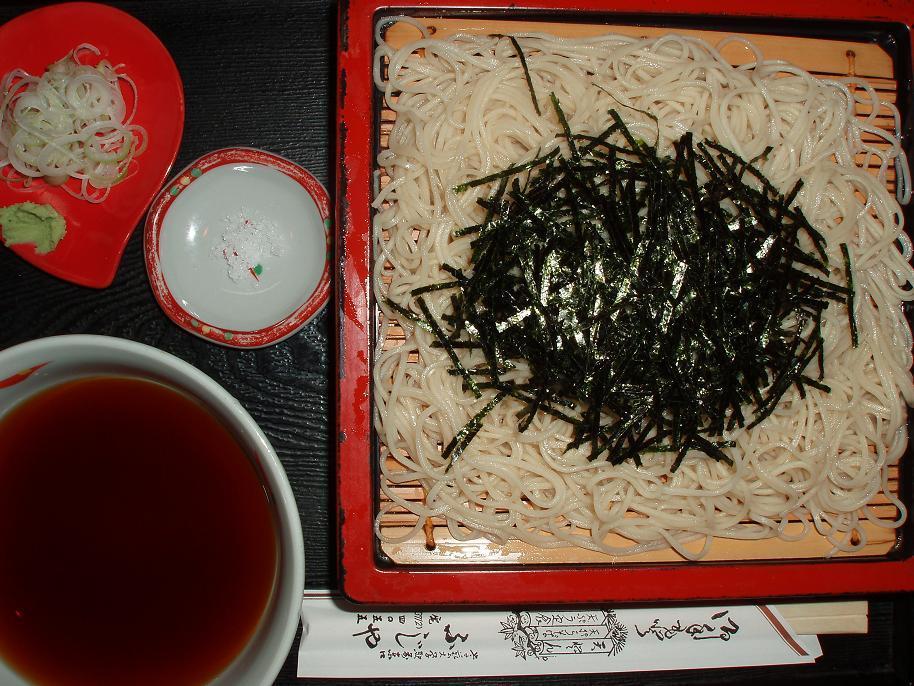 特上天ざる(蕎麦)