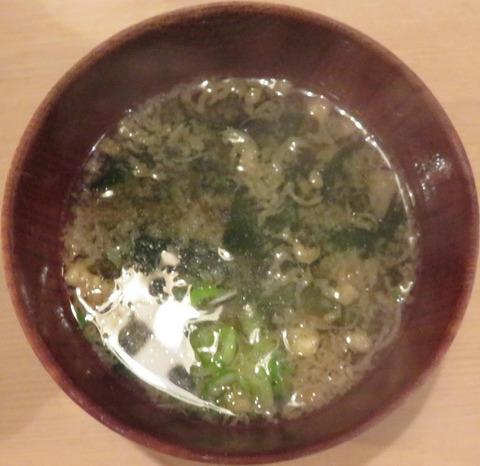 味噌汁(春日)