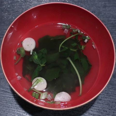 吸物(蕎麦季)