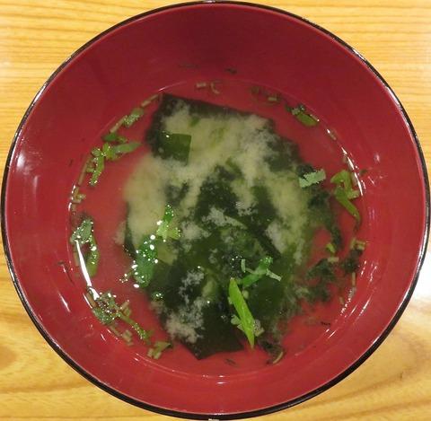味噌汁(太助鮨)