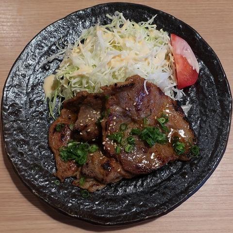 豚ロース味噌麹焼き(竹)