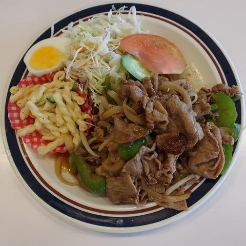 生姜焼定食(ハーベスト)600