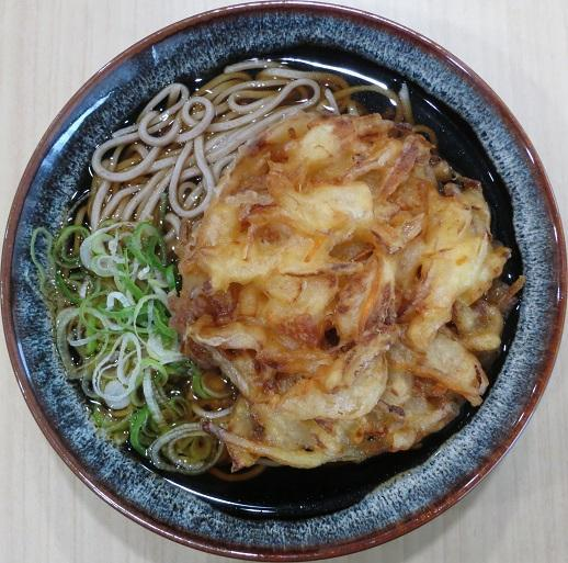 かき揚天ぷらそば380円