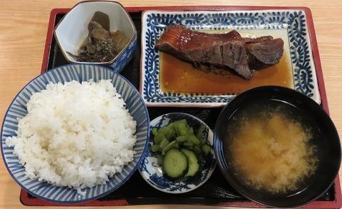 煮魚定食(魚みつ)700