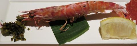 車海老塩焼(寿司田)594