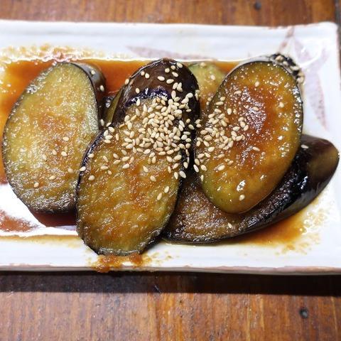茄子生姜炒め(だるま)368