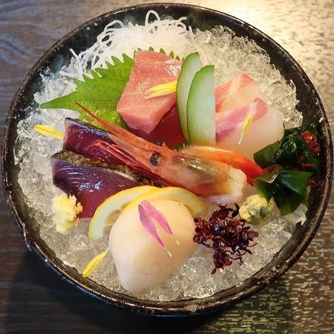 お刺身定食(赤松)1815