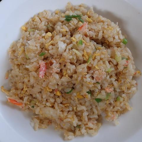 蟹炒飯(銀泉)700
