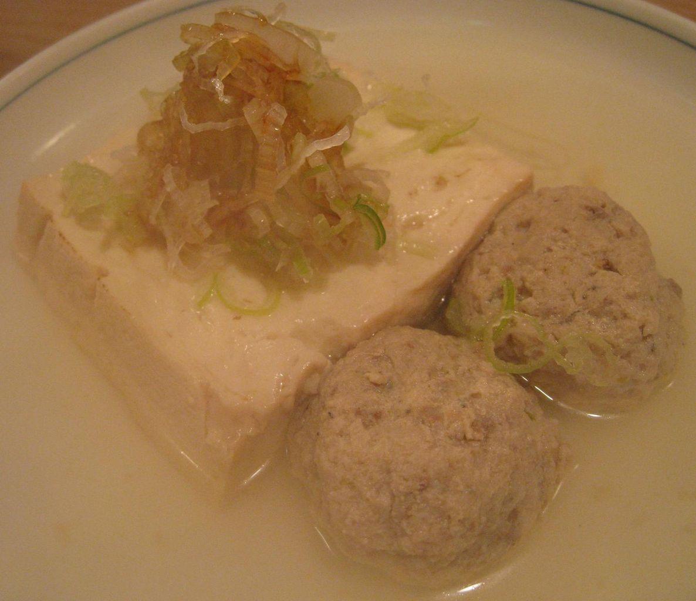 豆腐&ツミレ