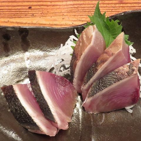 鰹藁焼刺身(三英)700
