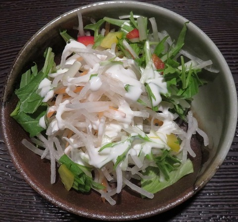 サラダ(たかはしや)