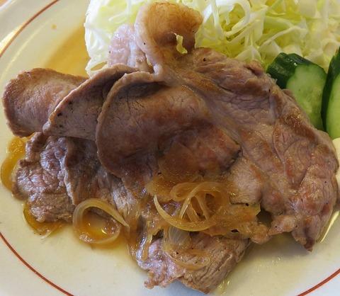 生姜焼(山王夢食堂)
