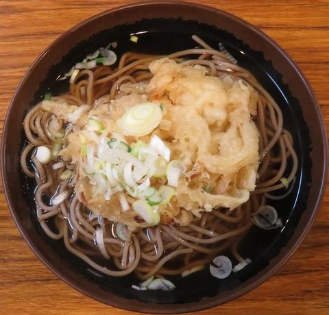 天ぷらそば(五味酉)350