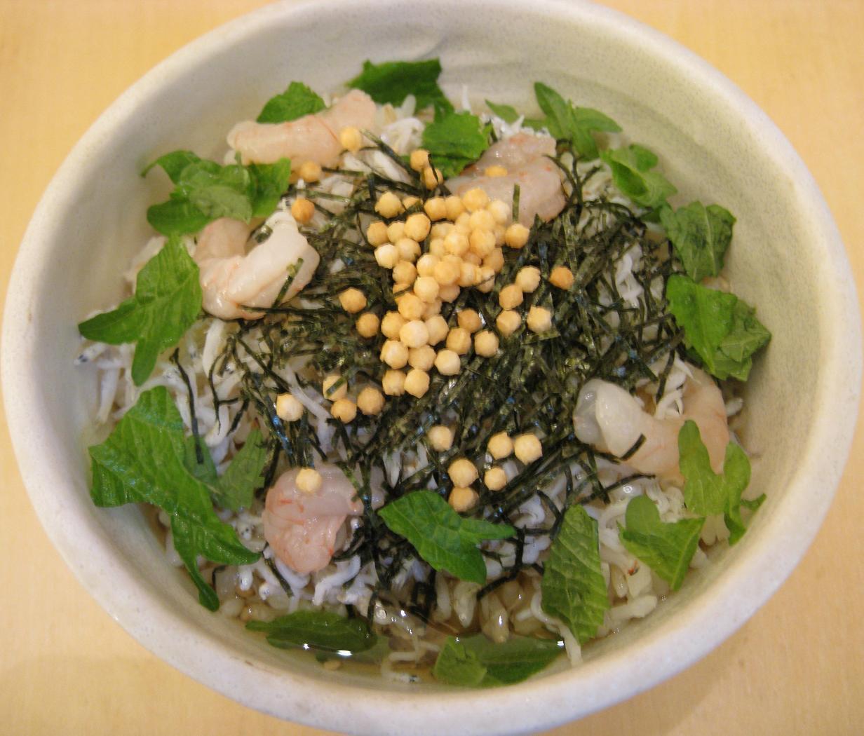 茶漬け(2杯目)