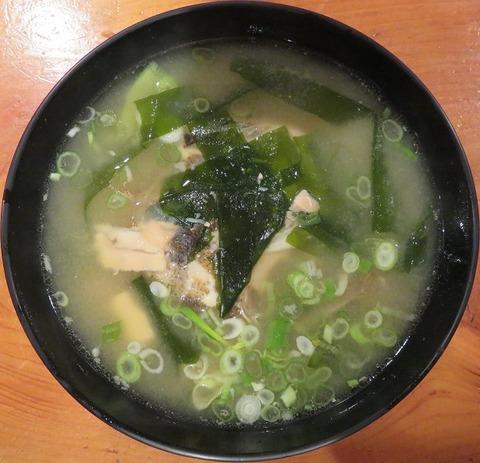 アラ汁(美好寿司)