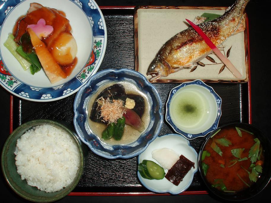 鮎塩焼定食(限定10食)