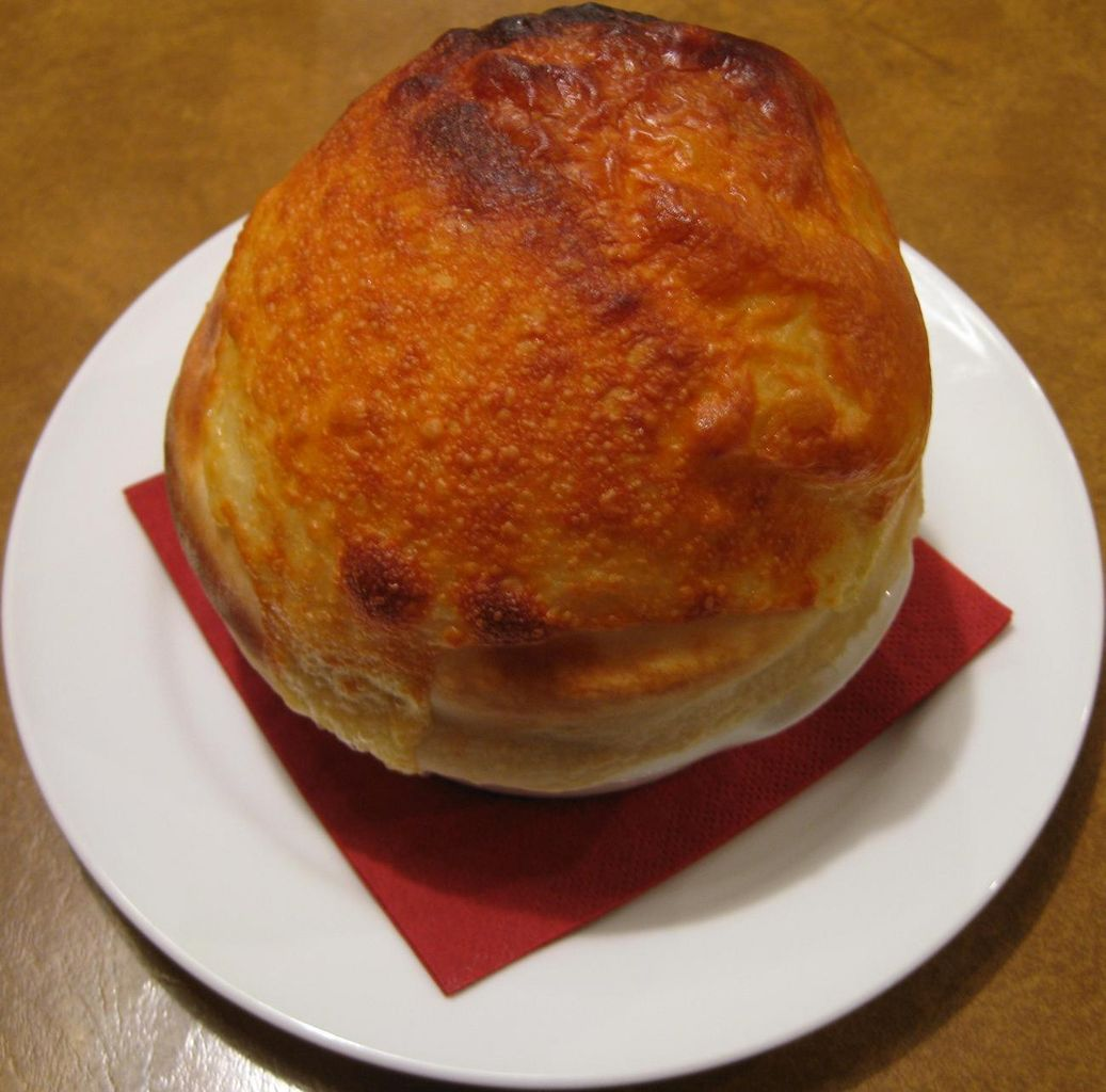 ピザ屋さんの窯焼きクラムチャウダースープ