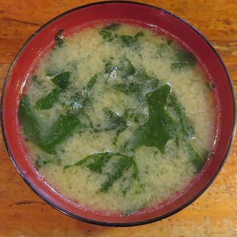 味噌汁(寿司清)