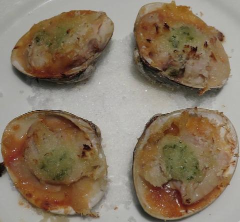 蛤のガーリックオーブン焼き(アリゾナキッチン)1080