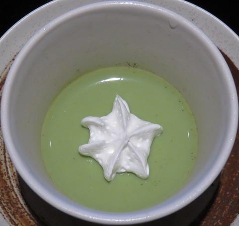 抹茶ムース(信寿し)