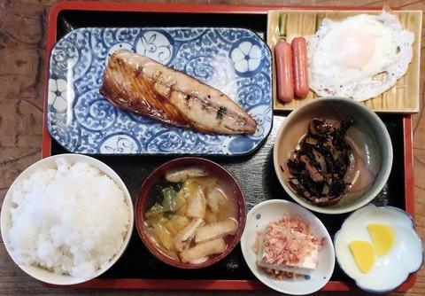 焼魚定食(千代)800