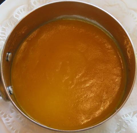 能登南瓜のスープ(銀杏)
