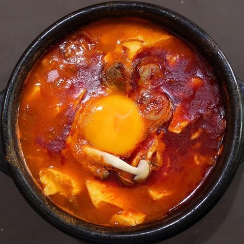 海鮮スンドゥブ定食(陽城家)864
