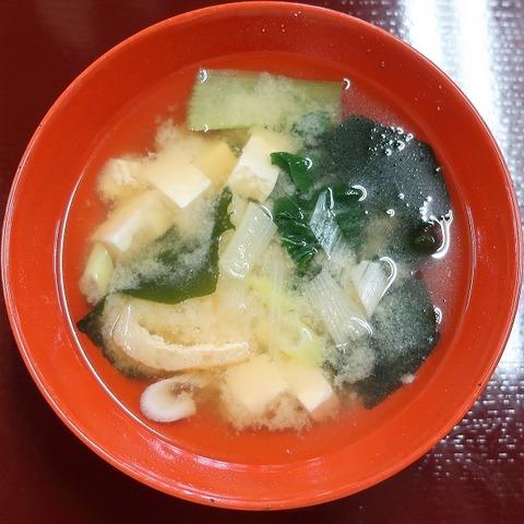 味噌汁(朝日屋) (2)