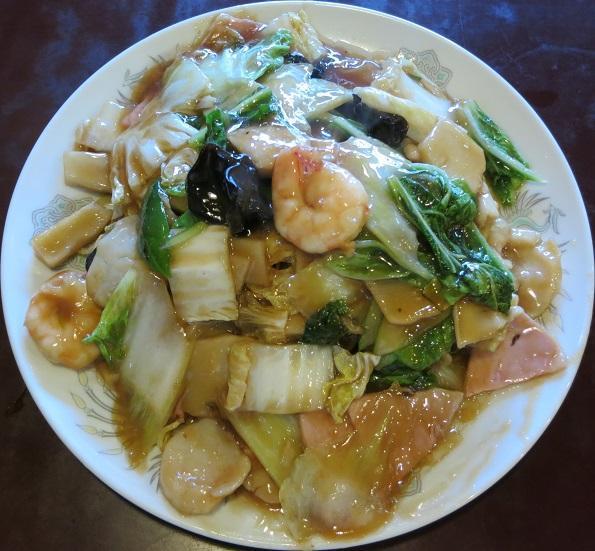 海鮮炒麺1,100円