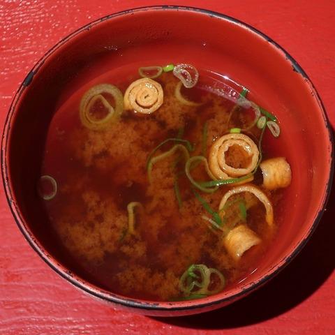 味噌汁(えびのや)