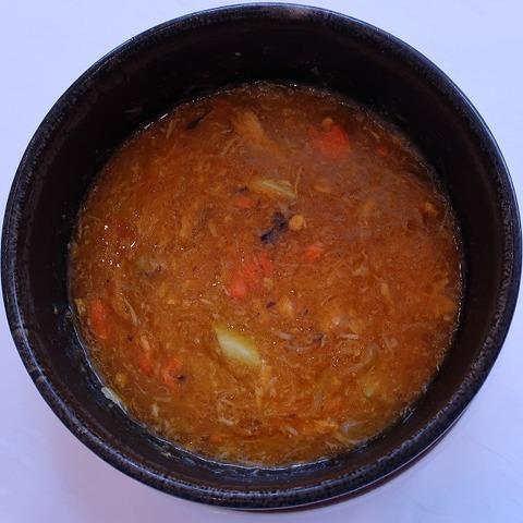 上海蟹あんかけ(大観苑)