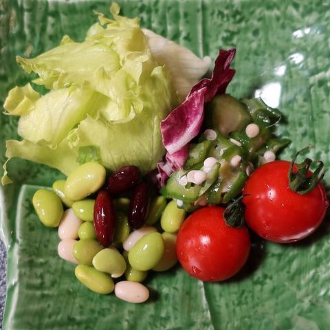 サラダ(上松屋)