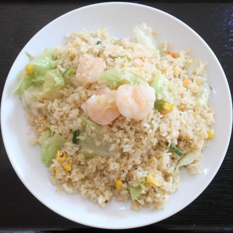 海老炒飯(天福居)800