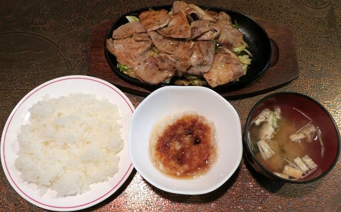 あしたば焼肉+ライス・味噌汁