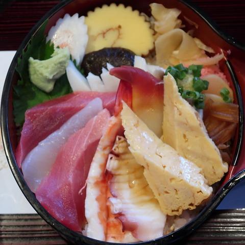 竹ちらし(東寿司)1700